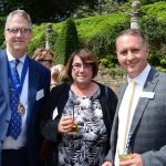Dorset Chamber of Commerce & Industry Event - Picture of Roger Smith, Zoe Bradley and Ian Girling